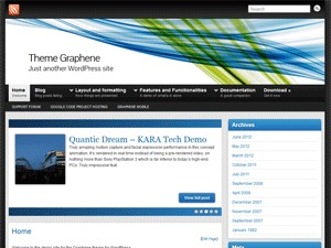 Graphene business WordPress theme