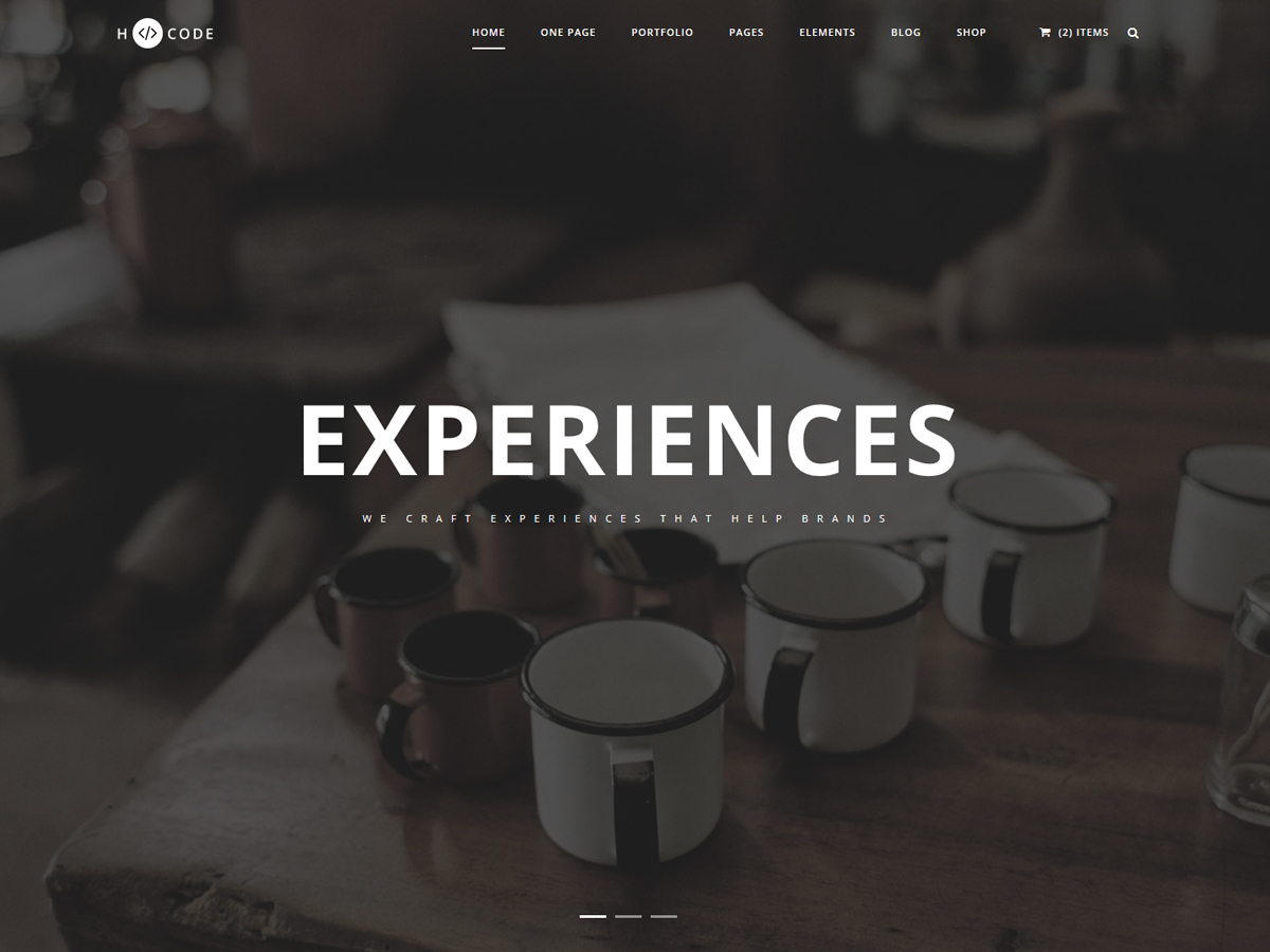 H-Code WordPress shopping theme