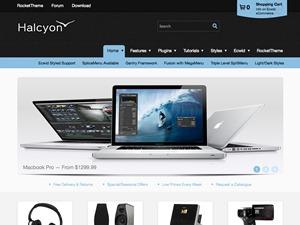Halcyon WordPress theme