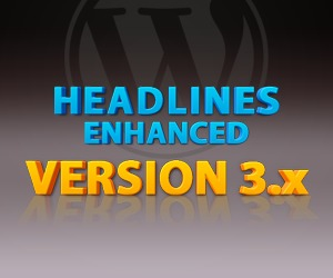 Headlines Enhanced WordPress theme