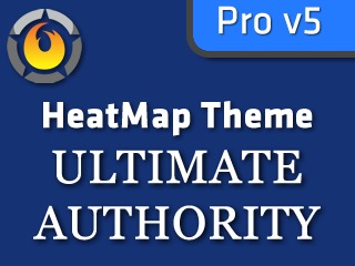 HeatMap Ultimate Authority Blue (HMT Pro Skin) WordPress theme