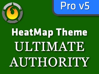 HeatMap Ultimate Authority Green (HMT Pro Skin) WordPress theme