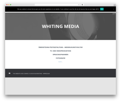 Hestia WordPress template free download - whiting-media.com
