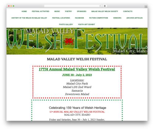 Free WordPress Responsive Facebook Page Plugin plugin - welshfestival.com
