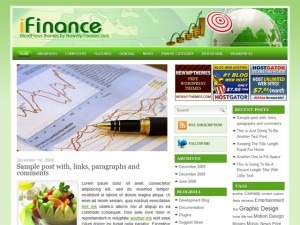 iFinance WP template