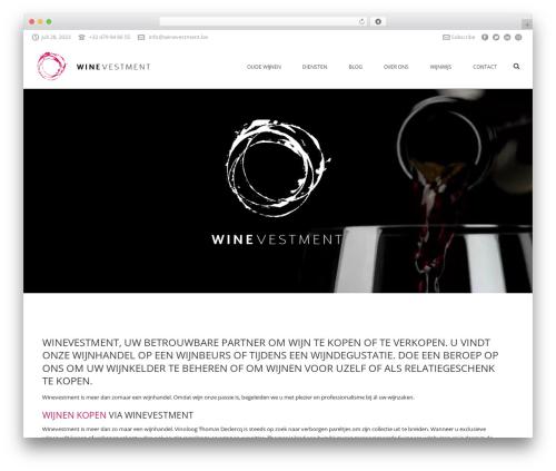 Jupiter theme WordPress - winevestment.be