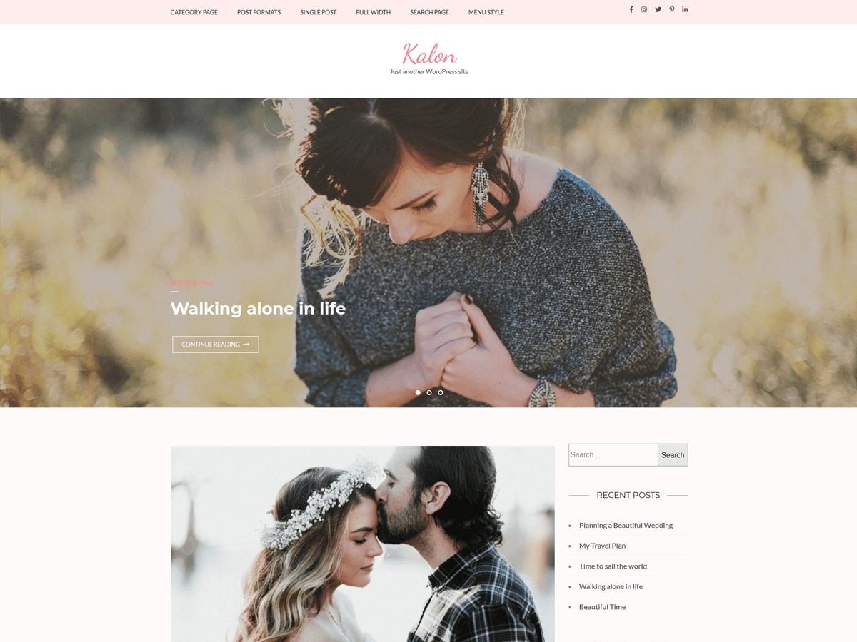 Kalon theme free download