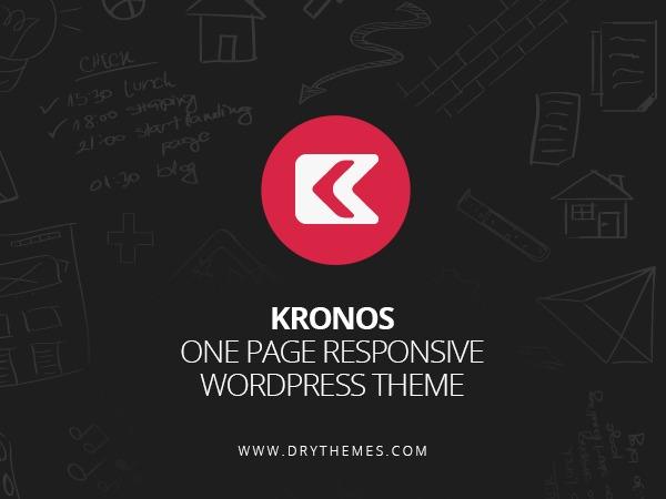 Kronos WP best portfolio WordPress theme