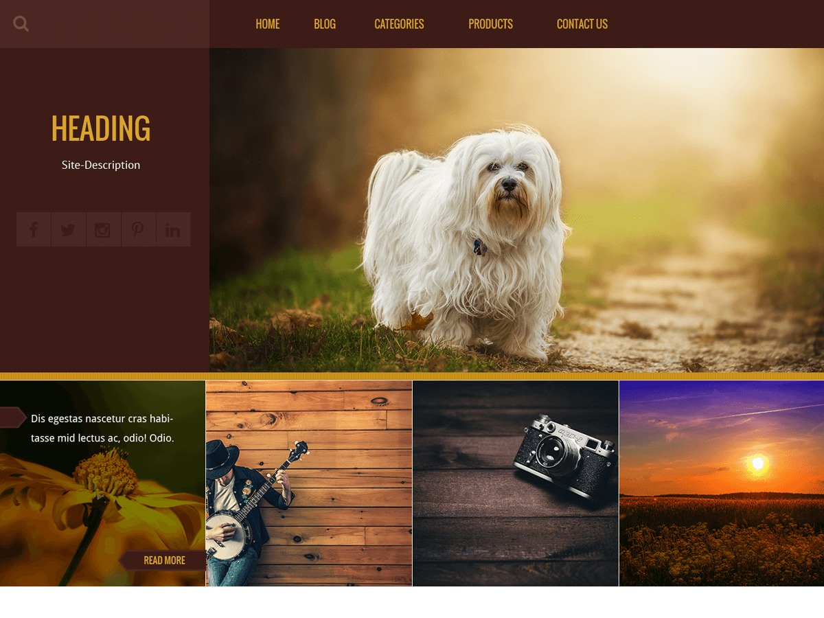Kurama best WordPress magazine theme