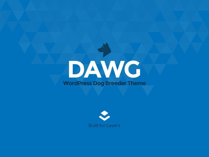 Layers Dawg WordPress website template