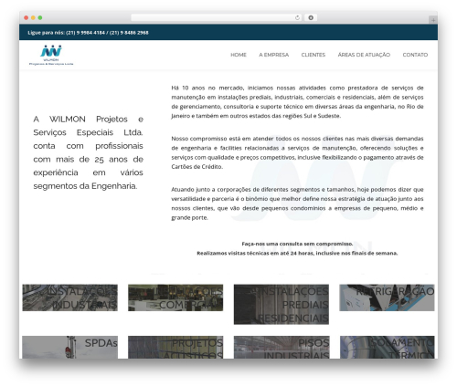 Llorix One Lite template WordPress free - wilmon.com.br