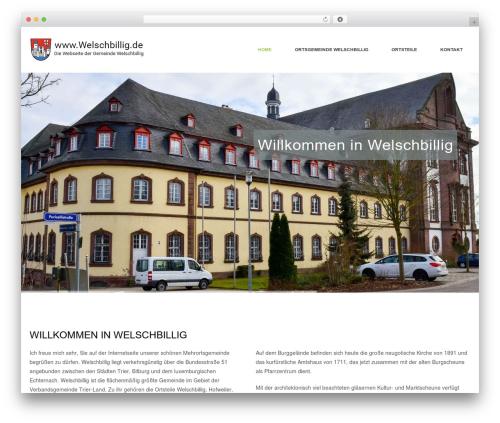 WordPress fresh-framework plugin - welschbillig.de