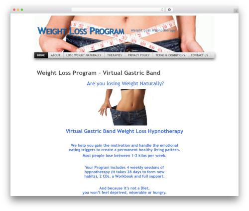 Mystique food WordPress theme - weight-loss-program.com.au