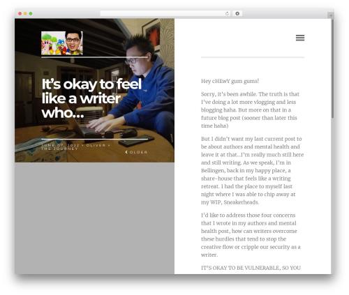 Paper WordPress page template - winfree.com.au