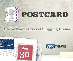 Postcard theme WordPress