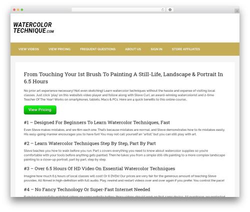 Schema by MyThemeShop WordPress theme - watercolortechnique.com