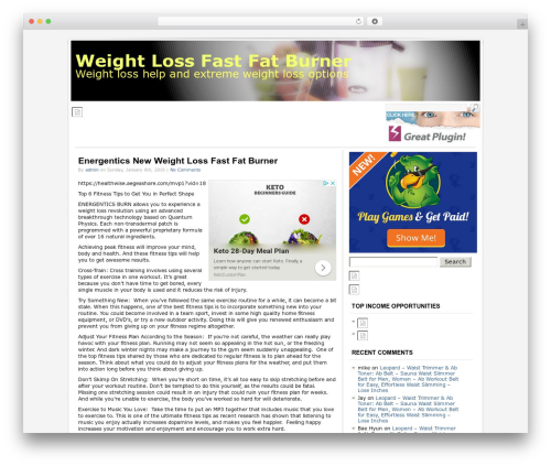 Socrates gym WordPress theme - weightlossfastfatburner.com