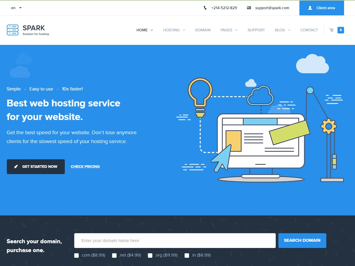 Spark Theme theme WordPress