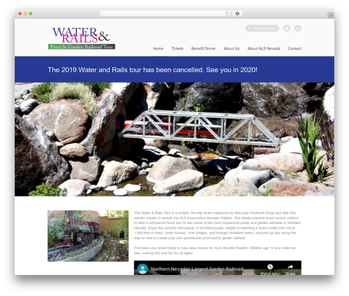 Stack garden WordPress theme - waterandrails.org