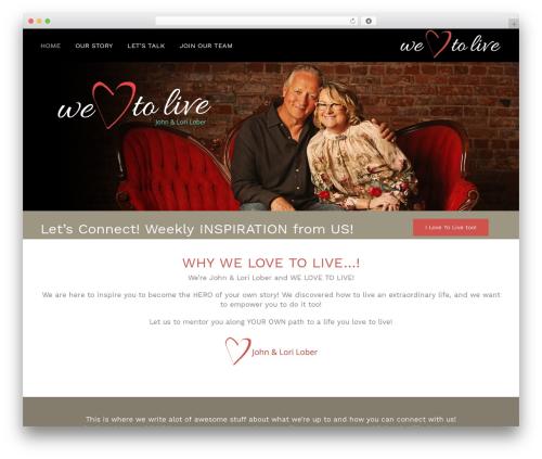 Template WordPress Avada - welovetolive.com