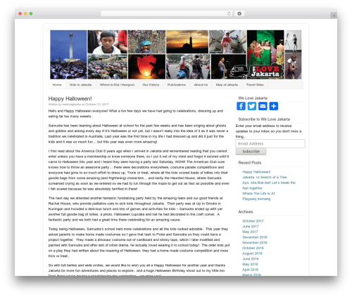 Template WordPress Catalyst - welovejakarta.com