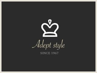 Theme WordPress Adept style