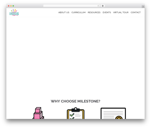 Theme WordPress neve - milestonemontessori.ca