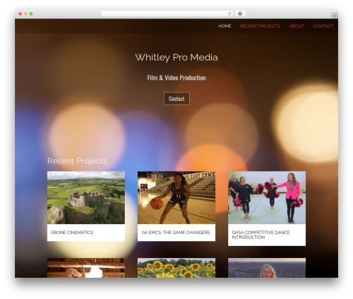 Theme WordPress Onesie Pro - whitleypro.com