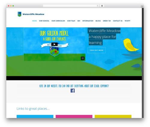 Theme WordPress Salient - watercliffemeadow.com