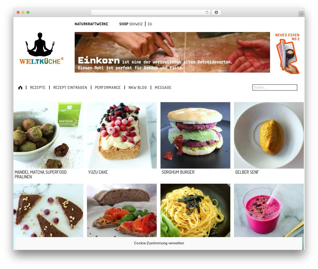 Theme WordPress weltkueche 2.0 by Underscores.me - weltkueche.com