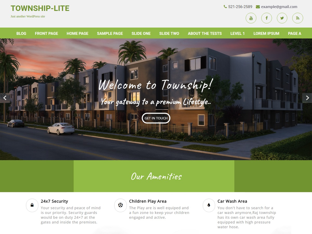 Township Lite WordPress theme download