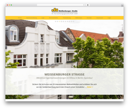 Twenty Thirteen free website theme - weissenburgerstrasse.de