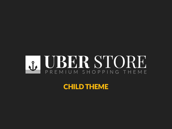 () UberStore Child Theme best WooCommerce theme