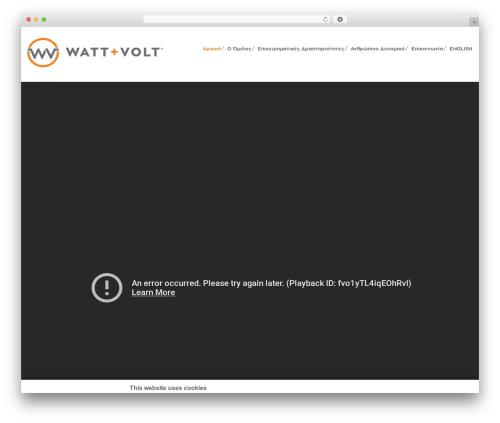 VozX best WordPress template - watt-volt.com/el
