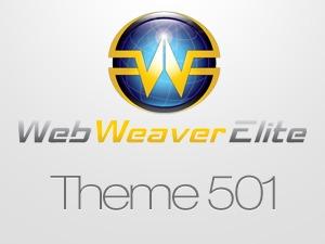 Web Weaver Elite 501 template WordPress