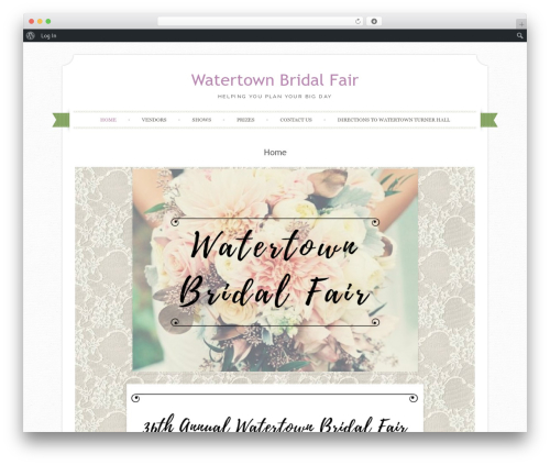 Free WordPress Max Mega Menu plugin - watertownbridalfair.com