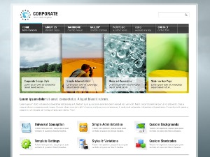 WordPress theme Corporate Wordpress Theme