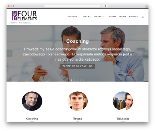 WordPress theme Customizr - fourelements.pl