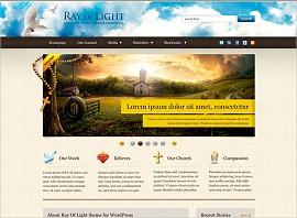 WordPress theme Ray Of Light Premium Theme