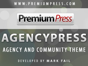 WordPress website template agencypress