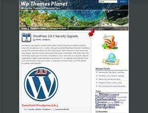 WordPress website template Patagonia