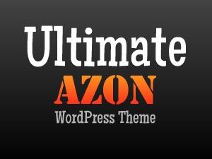 WordPress website template Ultimate Azon Theme