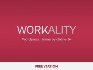 Workality Lite WordPress website template