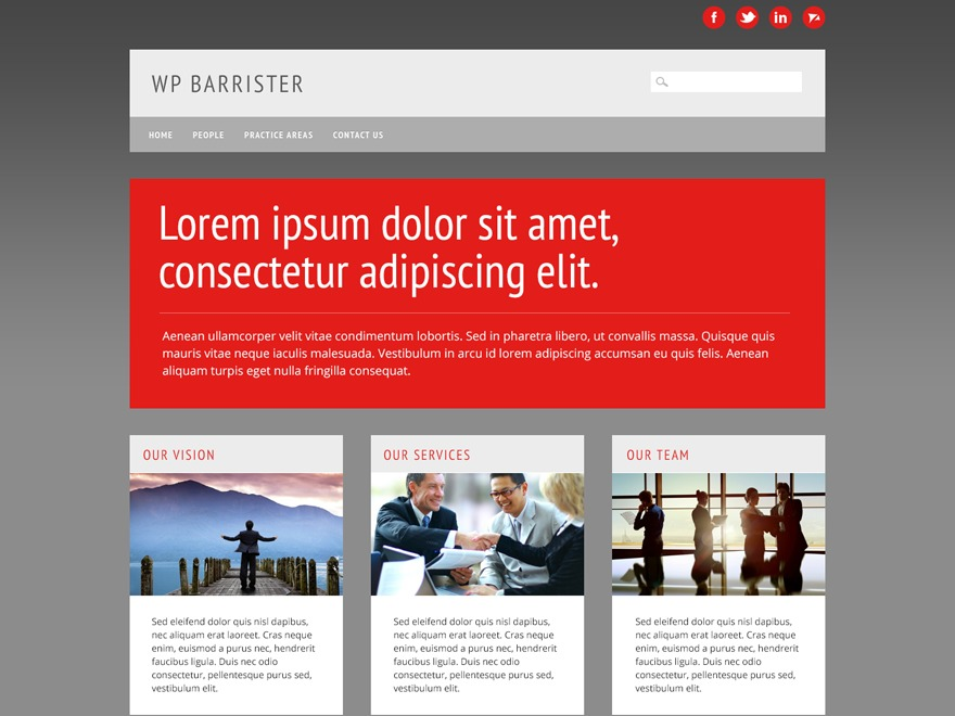 WP Barrister free WP theme