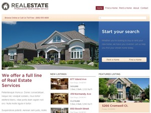WP Pro Real Estate real estate WordPress theme
