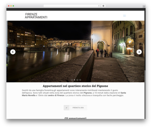 Free WordPress Contact Form 7 plugin - firenze-appartamenti.it