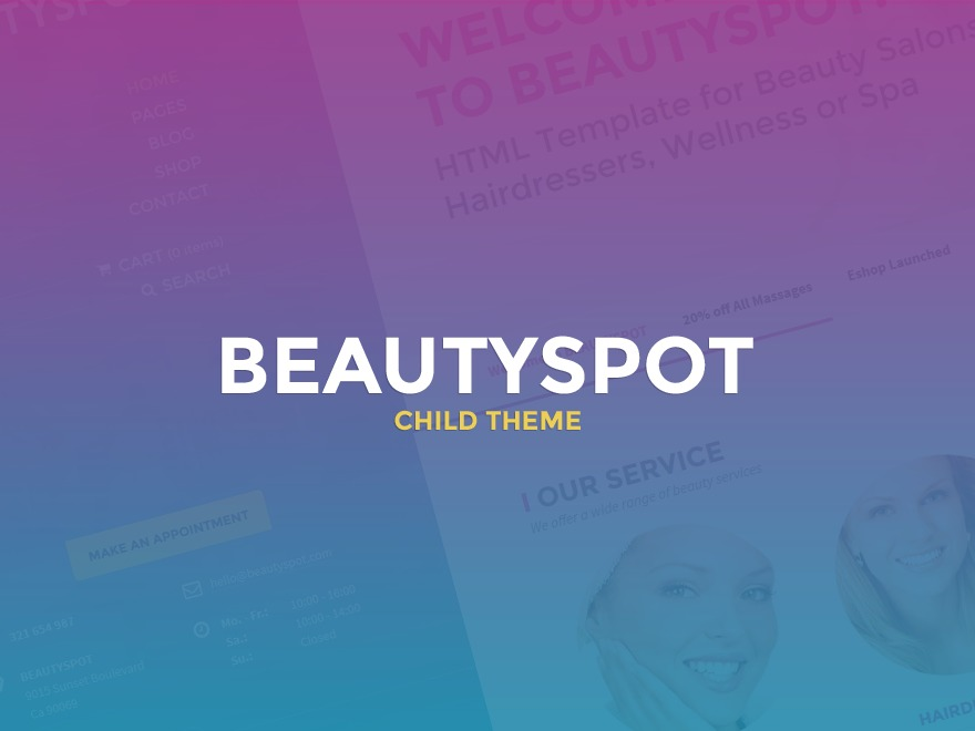 WP theme BeautySpot Child