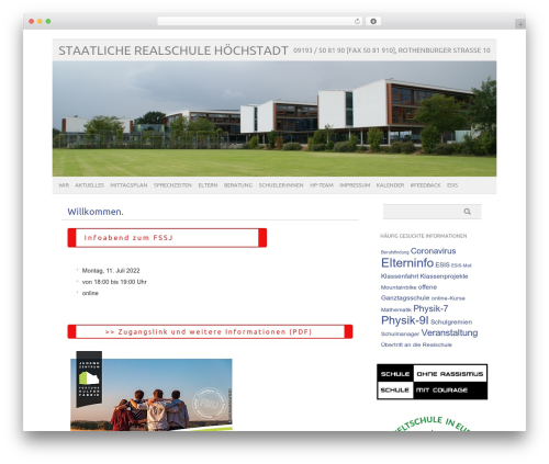 WP theme picolight - web2.realschule-hoechstadt.de