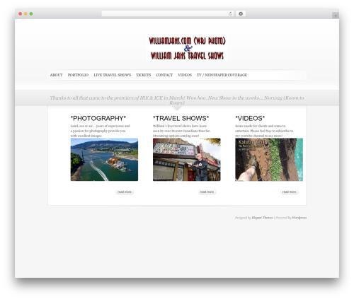WP theme SimplePress - williamjans.com