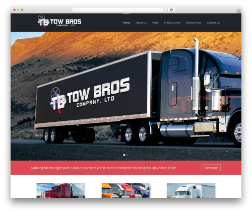 Basix company WordPress theme - towbrosco.com